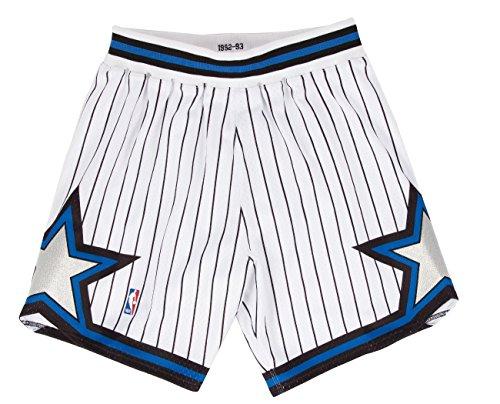 - Mitchell and Ness 92-93 Orlando Magic Mens Shorts in White