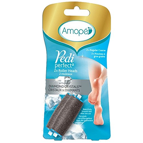 Amope Pedi Perfect Electronic Foot File Refills, 2 ea (Pack of 9) by Pharmapacks