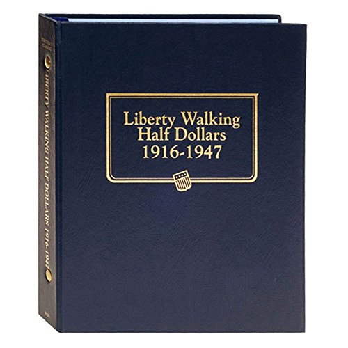 Whitman US Walking Liberty Half Dollar Coin Album 1916 - 1947 #9125