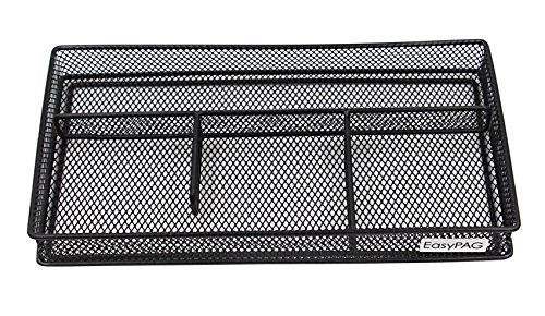 EasyPAG Mesh Collection Desk Accessories Organizer ,10 x 5.25 x 1.25 inch (10 Drawer Single)