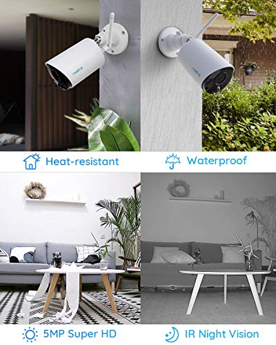 Reolink Argus Eco Outdoor Wireless Security Camera