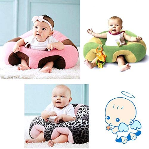 CARDMOE Baby Support Seat Soft Dining Chair Baby Cushion Sofa Plush Pillow Baby Nest Nursery Pillow Toy Home Gift size 43x43x20cm 2#