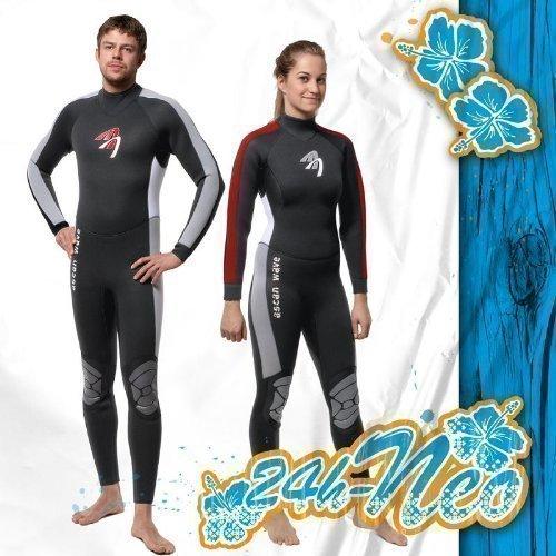 ASCAN Overall 5 mm Wave Semidry Neoprenanzug Surfanzug SURF KITE WAKE, 36