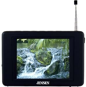Jensen JDTV-350 3.5-Inches TV Tuner/Receiver - Black