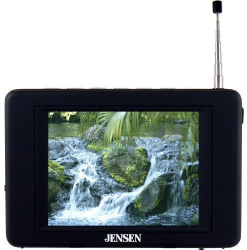 Jensen JDTV-350 3.5-Inches TV Tuner/Receiver - Black