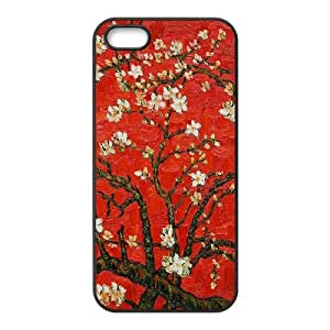 Van Gogh Almond Blossoms iPhone 5 5s Cell Phone Case Black L0563455