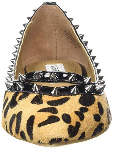 Steve Madden XHAIL - Bailarinas para mujer Leopard