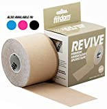 Premium Kinesiology Sports Physiotherapy Uncut Tape + BONUS Step by Step Instructional Guide. FDA Approved. Best Therapeutic Taping for Knee, Shoulder, Elbow & More, Boost Recovery & Provide Support