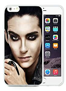 Personalization Tokio Hotel Soloist Face Make Up Look White iPhone 6 Plus 5.5 Inch TPU Protective Phone Case