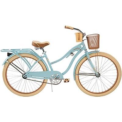 "26"" Huffy Nel Lusso Women's Cruiser Bike, Blue"