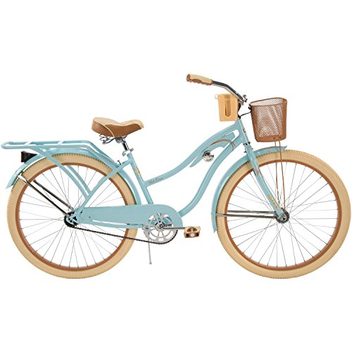 "26"" Huffy Nel Lusso Women's Cruiser Bike, Blue"