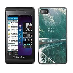Dragon Case - FOR Blackberry Z10 - Poetry and the distance - Caja protectora de pl??stico duro de la cubierta Dise?¡Ào Slim Fit