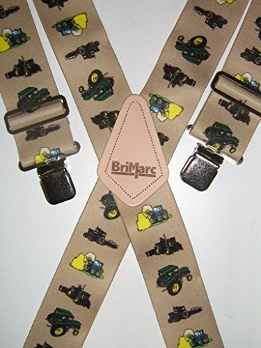 MENS BRACES TRACTOR TRACTORS FARMING DESIGN HEAVY DUTY 2″ 50mm WIDE FROM M.K.TOOLS