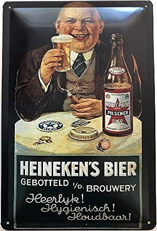 Deko 7 - Cartel de Chapa (30 x 20 cm), diseño de Cerveza de ...