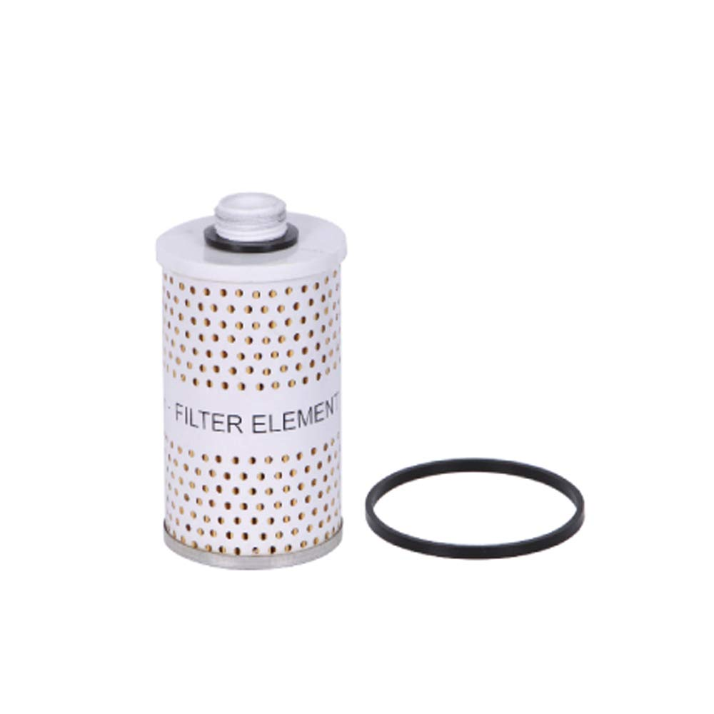 GROZ Replacement 10-Micron Fuel Filter Element Gasoline 44389 Fuel Oil For Fuel Tanks /& Fuel Pumps Contaminant Filter Viton Seal Kit Diesel