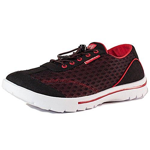 Skuze Unisex Miami Schoenen Zwart / Rood