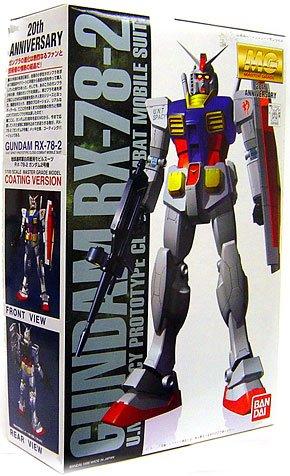 Bandai Hobby Gundam rx-78–2 (20. Jahrestag) Bandai Master Grade Action Figur