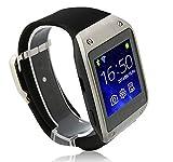 Swatch Reloj de pulsera K2 Bluetooth Android 4.2 MTK6572 Dual Core Cámara GPS WIFI FM 1,54 pulgadas