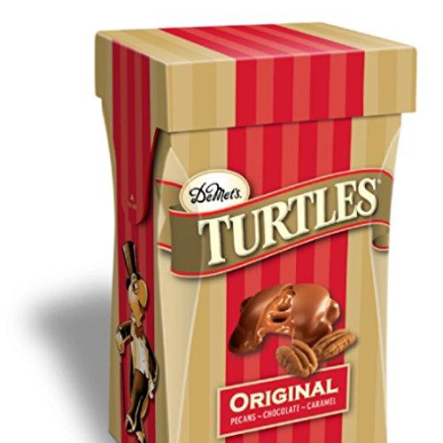 - DeMets Turtles Original Pecan Milk Chocolate Covered Pecan Caramel Clusters, 5.8 oz (Pack of 2)
