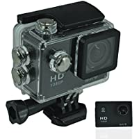 WiFi Action Camera 2.0MP 1080P H.264 1.5 Inch 170° Wide Angle Lens For Sports, Diving, Motorcycles, Snowmobiles, Snowboarding and more! (Black)