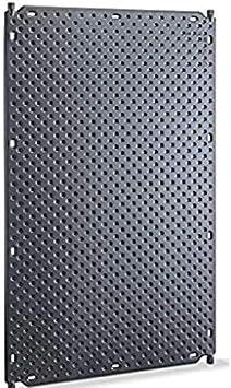 Well2wellness Pool Absorbedores Solares Calefacción Solar 1001 Con 4 Clip de Conexión Ø25mm