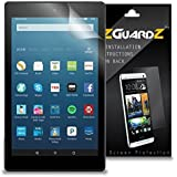(3-Pack) EZGuardZ Screen Protector for Amazon Fire HD 8 (2017) (Ultra Clear)