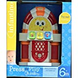 Press & Play Jukebox ** 6 Months * Plays Music & Lights up * Infantino