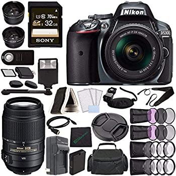 Amazon.com: Nikon D5300 - Cámara réflex digital con lente de ...