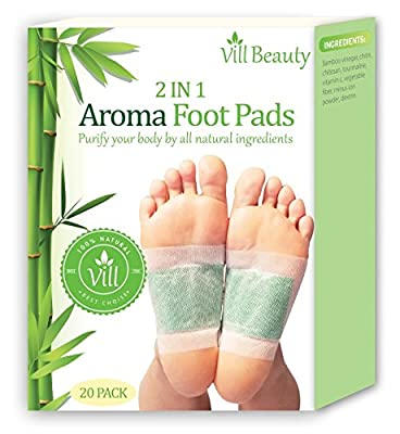 FDA Certified Upgraded 2 in 1 Foot Pads