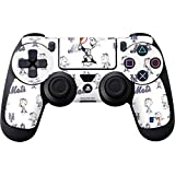 MLB New York Mets PS4 DualShock4 Controller Skin - New York Mets - Mr. Met Mascot - Repeat Distressed with Mr Met Vinyl Decal Skin For Your PS4 DualShock4 Controller