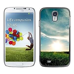 Caucho caso de Shell duro de la cubierta de accesorios de protección BY RAYDREAMMM - Samsung Galaxy S4 - Hermoso prado