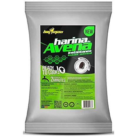 BigMan Harina de Avena Instantanea 1 kg - Galleta Negra con Nata: Amazon.es: Deportes y aire libre