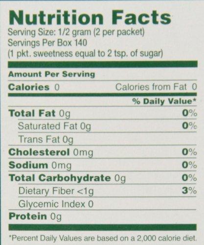 SweetLeaf Natural Stevia Sweetener, 70 Count - Import It All