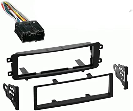 Amazon.com: Compatible with Mitsubishi Endeavor 2004 2005 2006 2007 2008  2009 2010 2011 Single DIN Stereo Harness Radio Install Dash Kit: Car  ElectronicsAmazon.com