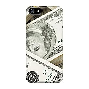 AnnetteL Premium Protective Hard Case For Sam Sung Galaxy S4 I9500 Cover - Nice Design - Stacks Of Money
