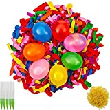 BESTZY Water Balloons Refill Quick & Easy Kit,1000 Pack Water Bomb Balloons Fight Games,Summer Splash Fun Kids Adults