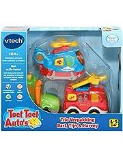 VTech - Toet Toet Auto's Trio Verpakking - Bart, Tijn & Harvey - Multikleuren - Voor Jongens en Meisjes - Van 1 tot 5 jaar - Nederlands Gesproken