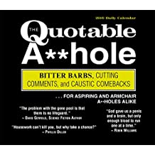 Quotable A-hole 2016 Box/Daily (Calendar)