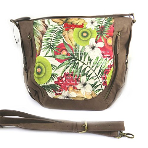 'french touch' bag 'Desigual' browngreen.