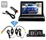Best Backup Camera For Car SUVs - Emmako Wireless Backup Camera and Foldable 4.3'' Color Review