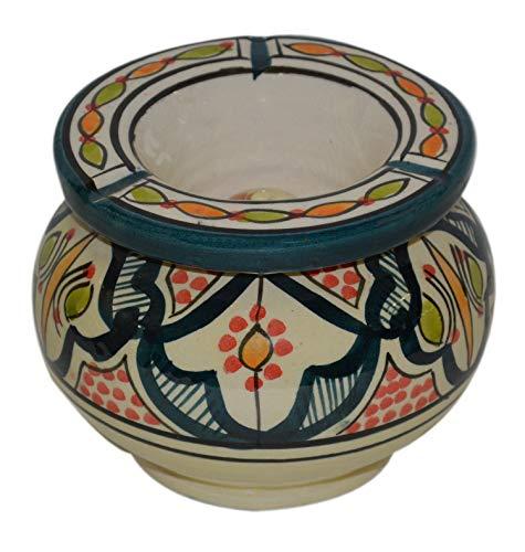 Ceramic Ashtrays Handmade Smokeless Moroccan Outside Patio Large