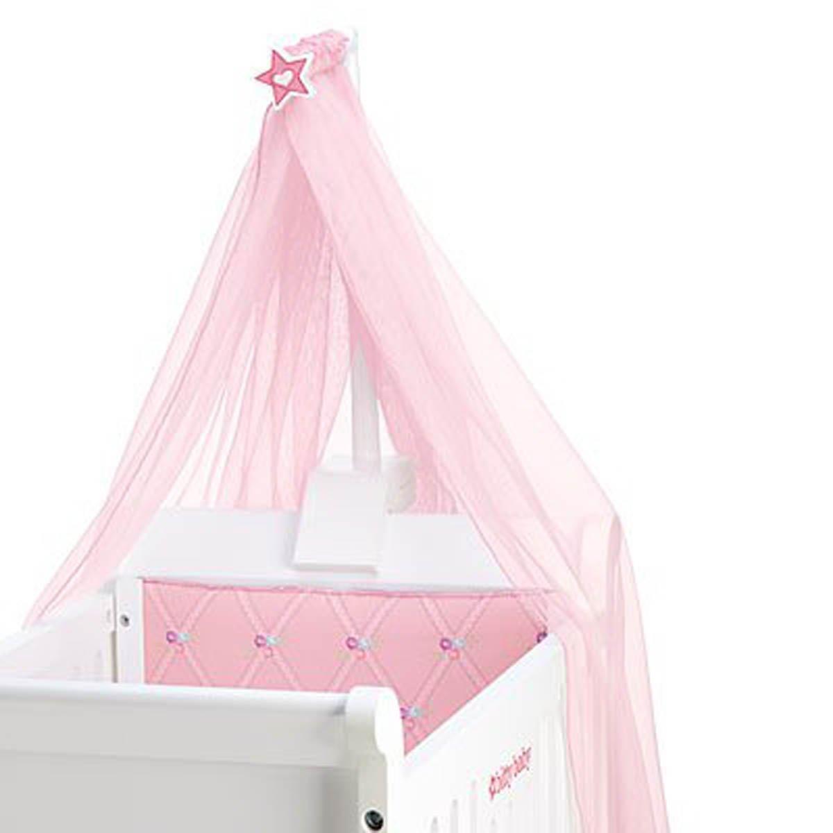 Amazoncom Bitty Baby Sweet Soft Canopy Crib Not Included Toys