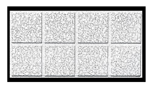 Acoustical Ceiling Tile 48''X24'' Thickness 42433, PK10