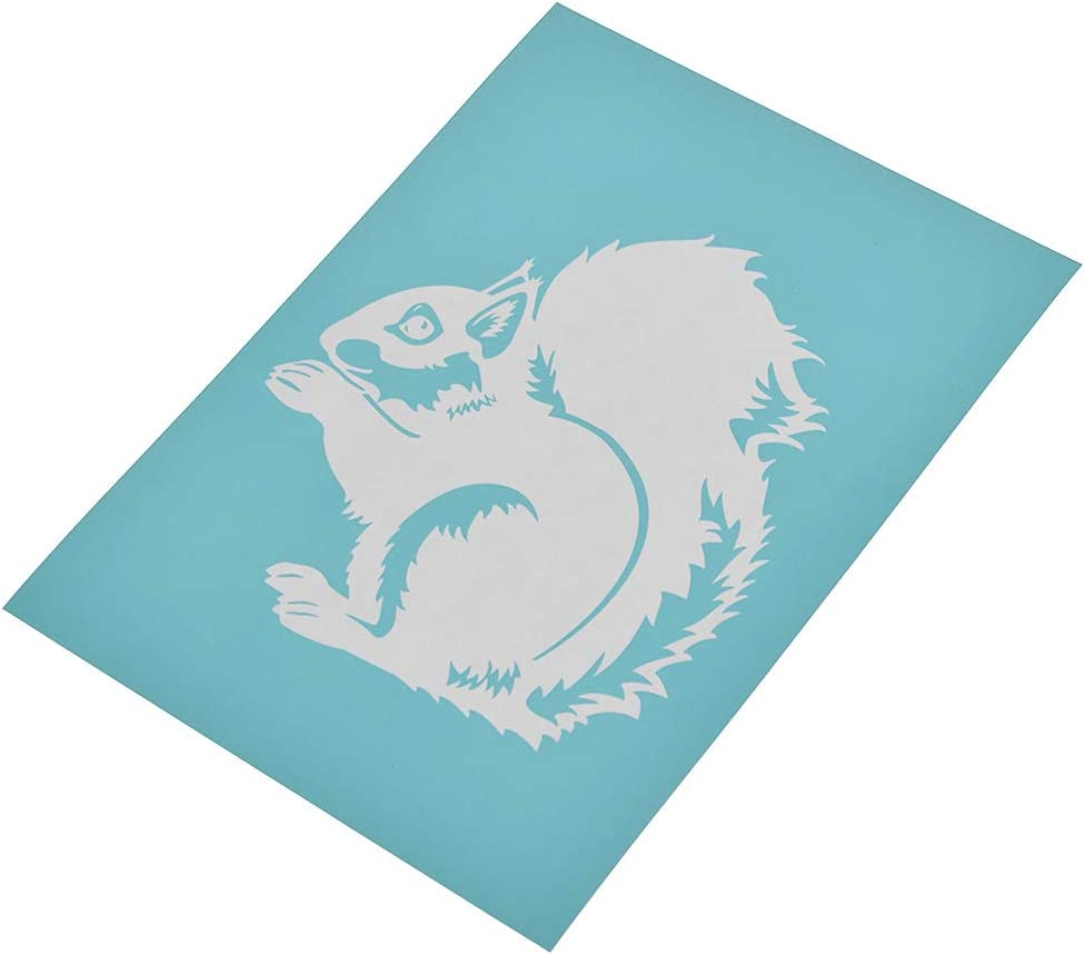 CHZIMADE Self-Adhesive Silk Screen Stencil Printing Mesh Transfers for Bag and Home Decoration Paper T-Shirts