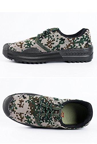 Digital Shoes Safety Camouflage Men Resistant Women Low 99 Unisex Sneaker Slip Green Working 3 Cut W6gtfnqn
