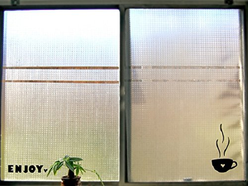 Con-Tact Brand Clear Covering Self-Adhesive Privacy Film and Liner, 18-Inches by 9-Feet, Frosty Diamond
