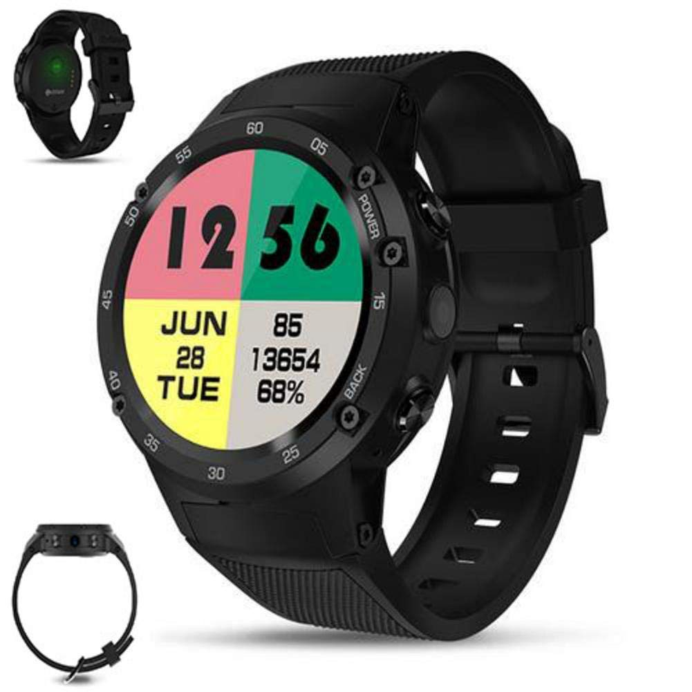 Amazon.com: MrRong 4G LTE GPS Smart Watch Android 7.0 ...