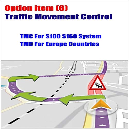 BEESCLOVER Car TMC (Traffic Message Channel) Receiver Mini USB Module/for Europen Countries/Special for S100 S150 Car Multimedia System Show