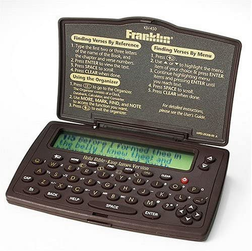 Franklin Pocket King James Version Electronic Holy Bible