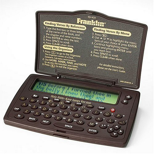 Franklin Pocket King James Version Electronic Holy Bible by Franklin Electronics